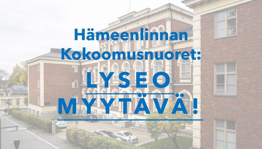 Lyseo myytävä